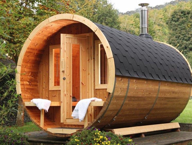 Строим уютную баню сами