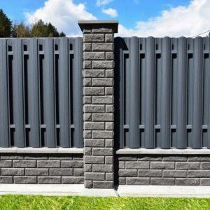 Установка заборов: обзор конструкций, материалов, вариантов установки все о защите частной собственности