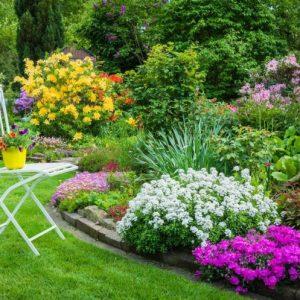 Декоративные клумбы — 120 фото лучших идей от садовника. Инструкция, как сделать красивые и оригинальные клумбы своими руками