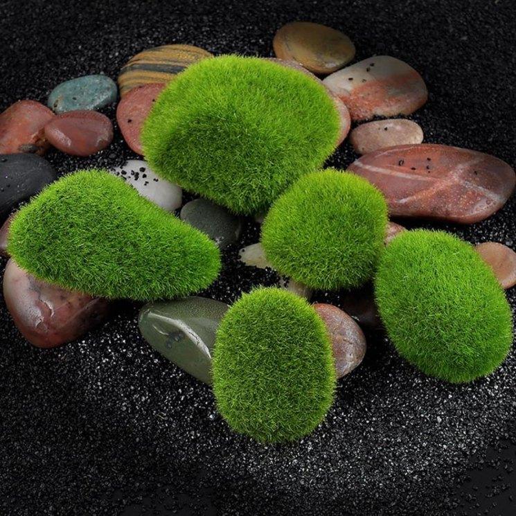 Декоративный мох для сада - 129 фото эксклюзивного дизайна. Только оригинальные и практичные решения   пошаговая инструкция