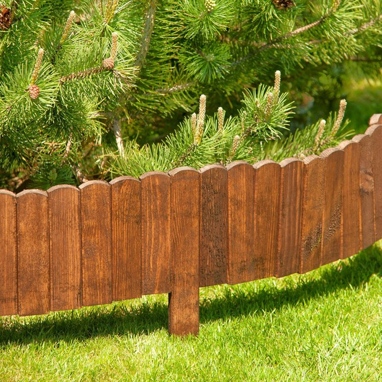 декоративный заборчик из дерева фото интенсивно