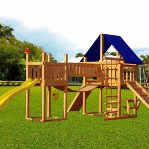 Детские площадки для дачи — место счастья вашего ребёнка: варианты, комплектации, материалы