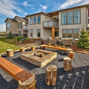 Дизайн двора частного дома лучшие и стильные идеи современного оформления и дизайна