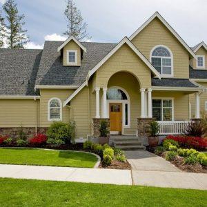 Двухэтажный дом — плюсы и минусы, пример рационального использования площади участка
