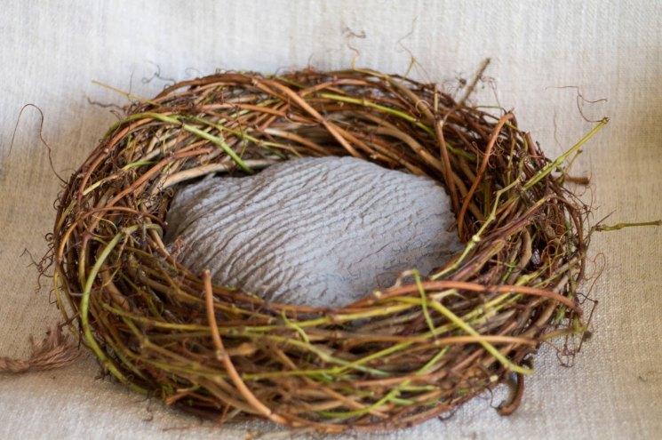 Декоративное гнездо своими руками — мастер-класс
