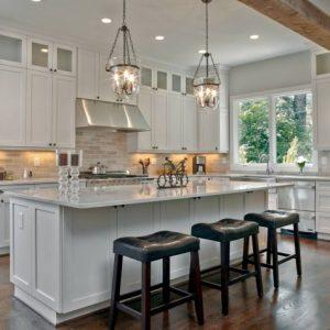 Как оформить кухню в частном доме — лучшие примеры функциональной и уютной кухни, правила планировки и рекомендации