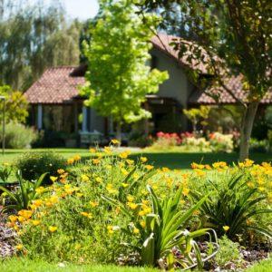 Как оформить сад: идеи и примеры ландшафтного дизайна, оформление и зонирование участка