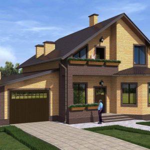 Как построить дом с гаражом — основные требования и особенности размещения гаража в доме, рекомендации и советы (фото + видео)