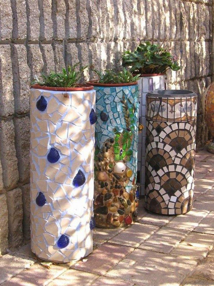 Кашпо для сада - красивая ваза для посадки растений изготавливаем своими руками (фото   видео)
