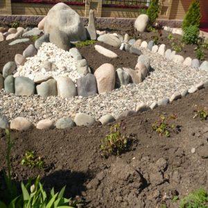 Клумба из камней — 110 фото самых красивых вариантов. Подробная инструкция по созданию необычной клумбы из камня своими руками
