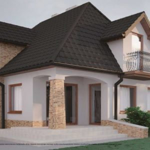 Красивая отделка фасада дома — делаем выбор, характеристики и особенности современных фасадных материалов (фото + видео)