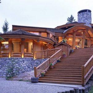 Красивые дома из оцилиндрованного бревна — жить как в сказке, особенности и требования к домам из натуральной древесины