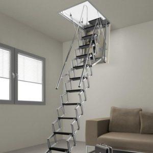 Лучшие чердачные лестницы — обзор распространенных конструкций, их особенности, правила монтажа и эксплуатации (фото + видео)