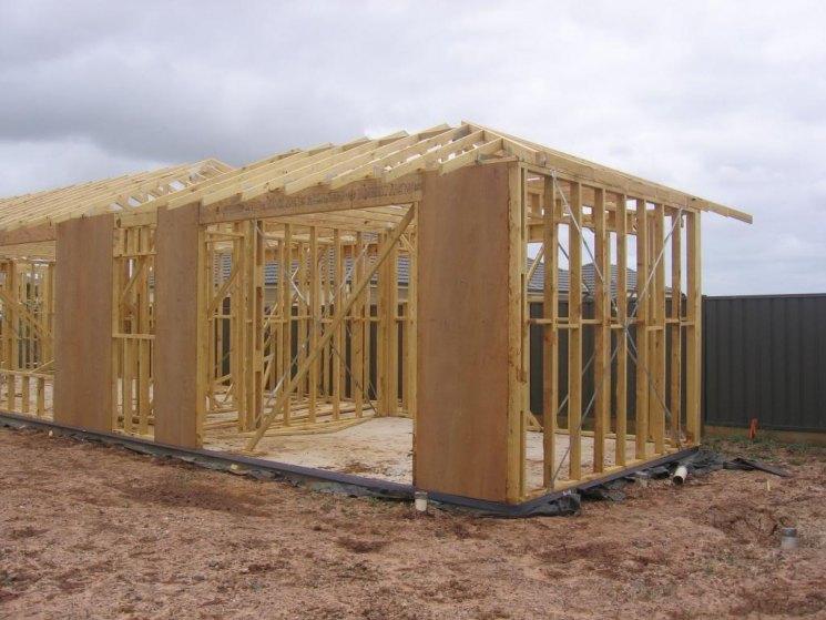Фото строения каркасных домов