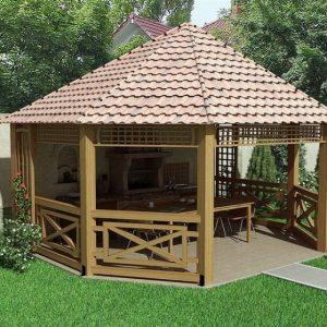 Малые архитектурные формы — недостающие элементы композиции на загородном участке