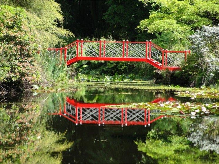 цветные фотографии красивых мостиков в парках белякович вчера