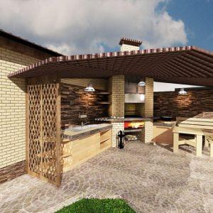 Обустройство двора: ландшафтный дизайн и зонирование участка, создаем красивый экстерьер дома