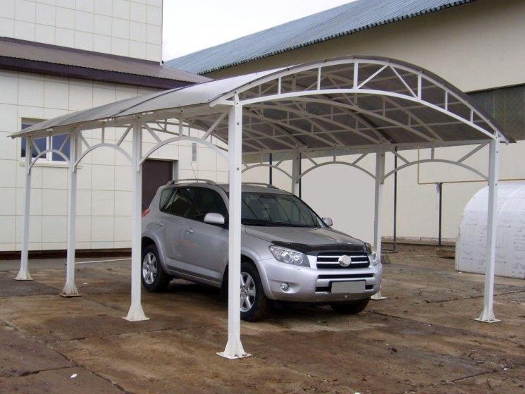 Площадка под автомобиль - просто, функционально, стильно: делаем своими руками