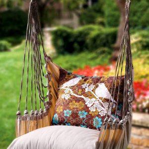 Подвесное кресло — 120 фото самых оригинальных идей, сделанных своими руками. Пошаговая инструкция + эксклюзивный дизайн для подвесного кресла