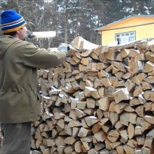 Поленница — храним и сушим дрова правильно а также занимаемся дизайном