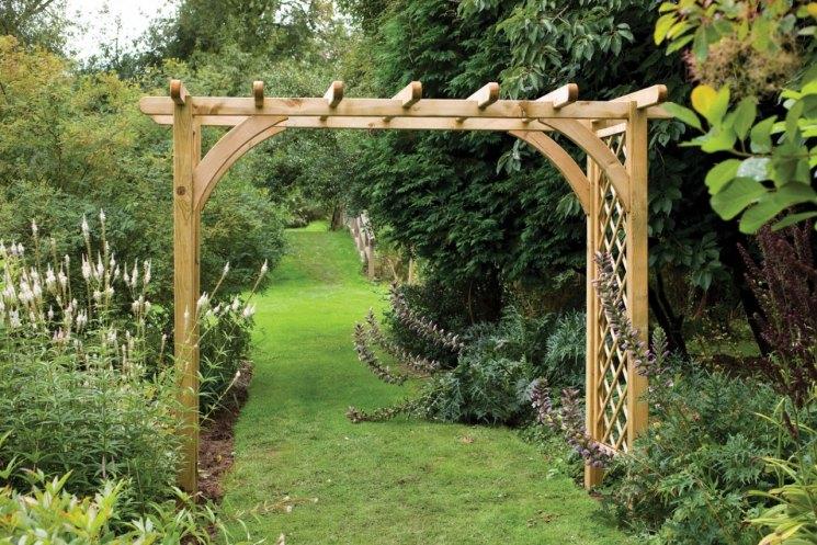 Садовые арки для цветов