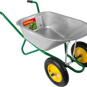 Садовая тачка — простой и надёжный инструмент помощник при перевозке разнообразных грузов
