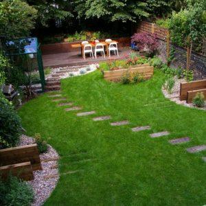 Участок 15 соток — рациональная организация участка, планировка зон отдыха, ландшафтный дизайн, озеленение участка