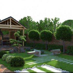 Участок 8 соток — райский сад своими руками, особенности планировки и зонирования