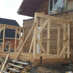 Веранда пристроенная к дому — инструкция, как сделать своими руками. 140 фото эксклюзивного и функционального дизайна + готовые проекты