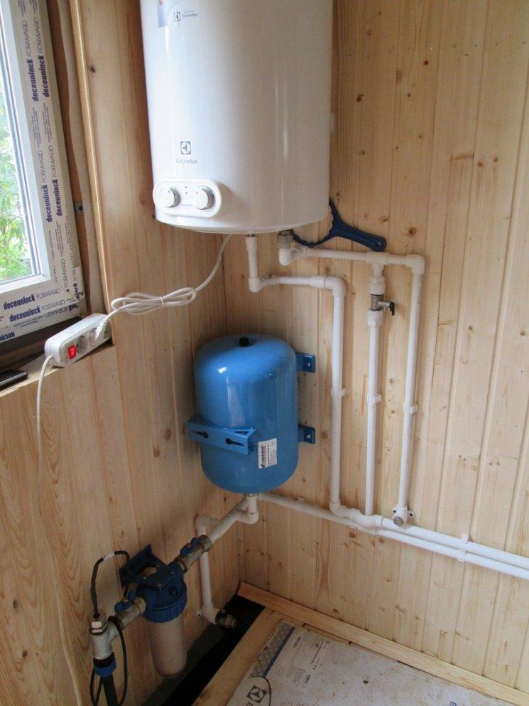 системы водоснабжения загородного дома фото небольшой